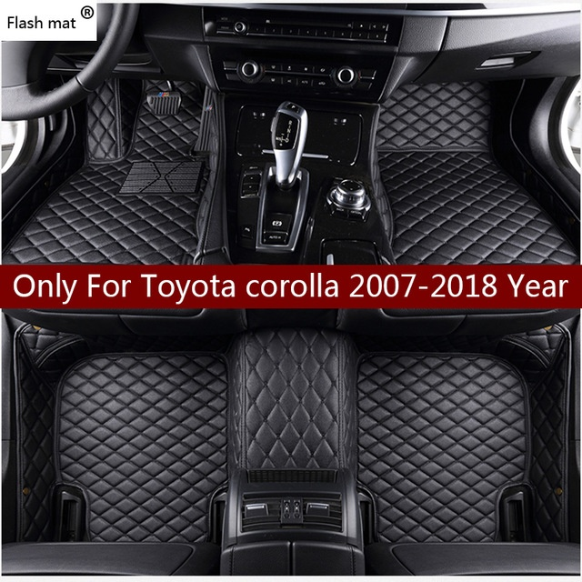 Toyota Corolla Custom Awesome Aliexpress Com Buy Flash Mat Leather Car Floor Mats for toyota-1137 Of Lovely toyota Corolla Custom