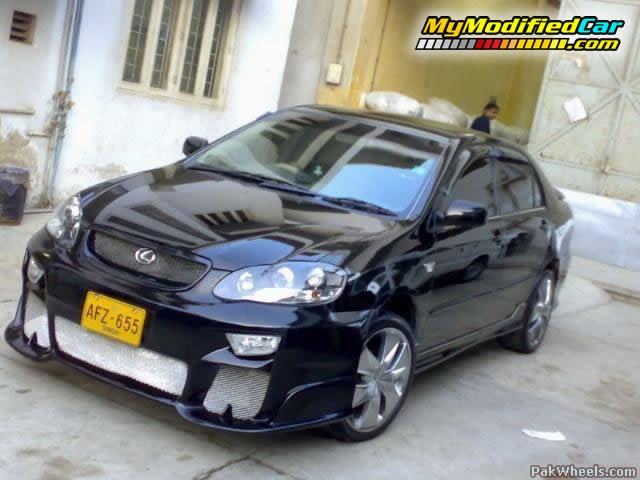 toyota corolla 2 0d modified 2005 body kits mymodifiedcar com