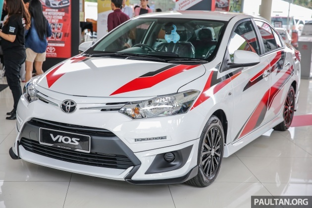 gallery toyota vios sports edition lower sportier