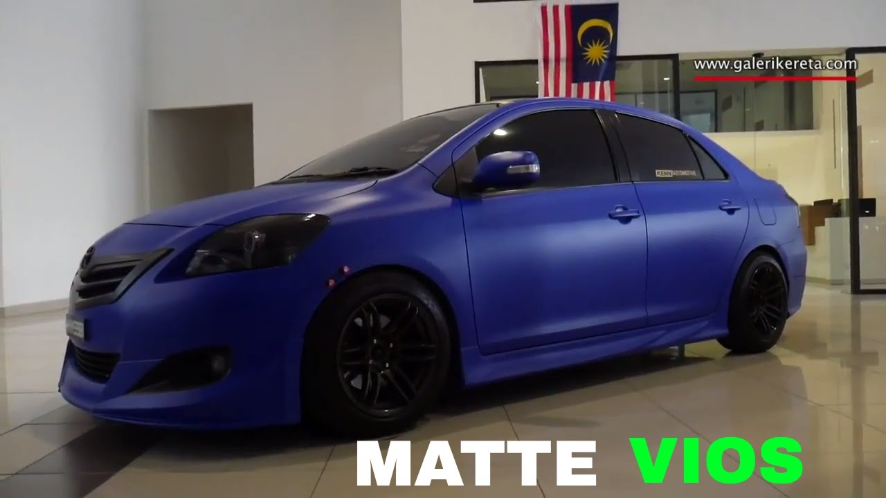 Toyota Vios Modified Luxury Matte Blue Vios Modified by Vios Garage Team Youtube-866 Of New toyota Vios Modified